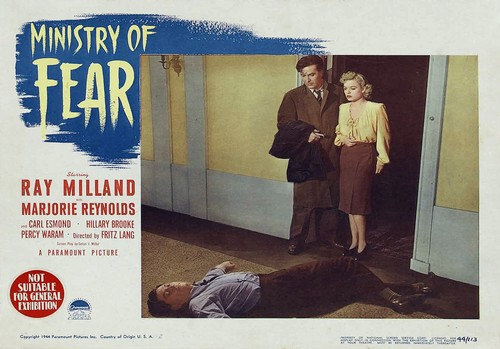 MINISTRY OF FEAR LOBBY CARD 2