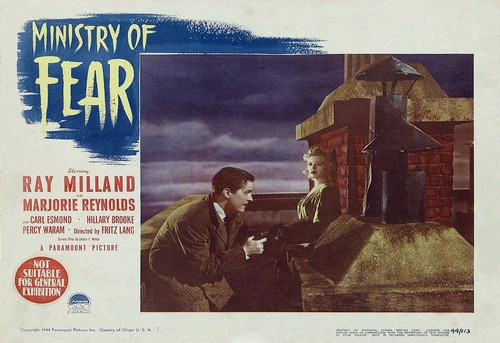 MINISTRY OF FEAR LOBBY CARD 3