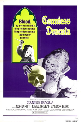 COUNTESS DRACULA FILM POSTER 2