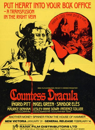 COUNTESS DRACULA FILM POSTER 3