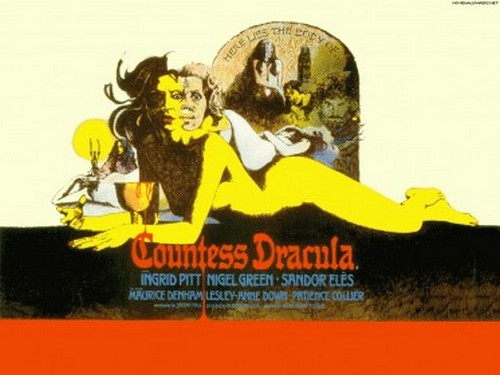 COUNTESS DRACULA FILM POSTER 4