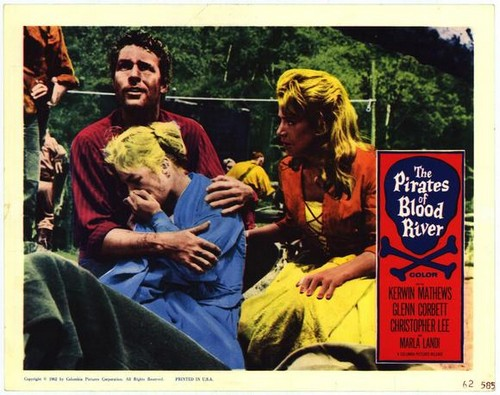 PIRATES OF BLOOD RIVER FILM POSTER 2