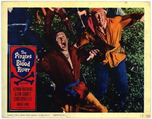 PIRATES OF BLOOD RIVER FILM POSTER 3