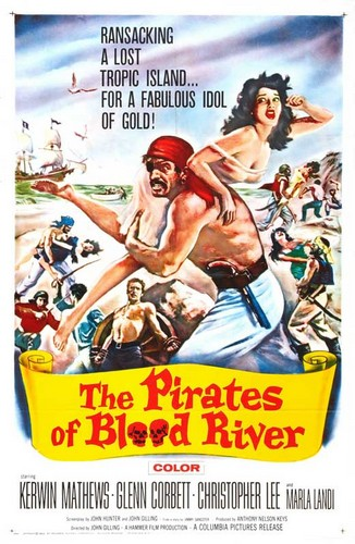 PIRATES OF BLOOD RIVER FILM POSTER 4