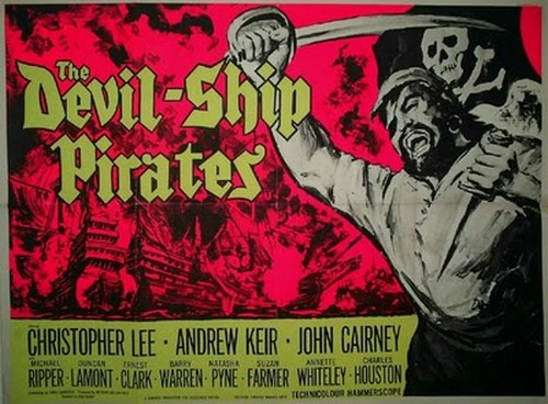 THE DEVIL SHIP PIRATES FILM POSTER 3