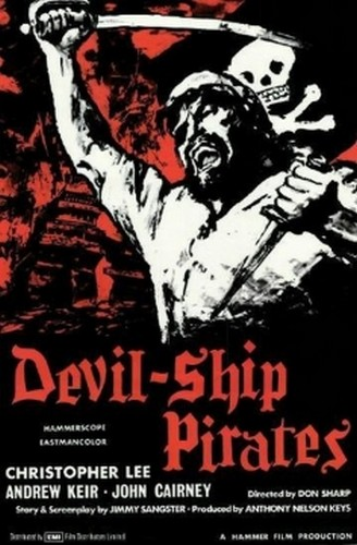 THE DEVIL SHIP PIRATES FILM POSTER 4