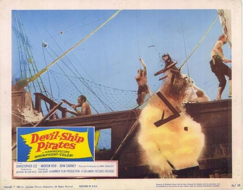THE DEVIL SHIP PIRATES FILM POSTER 7