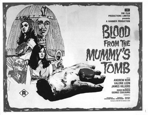 BLOOD FROM THE MUMMYS TOMB FILM POSTER 1