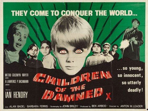 CHILDREN OF THE DAMNED FILM POSTER 1
