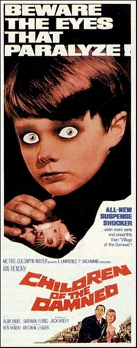 CHILDREN OF THE DAMNED FILM POSTER 2