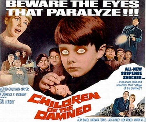 CHILDREN OF THE DAMNED FILM POSTER 5
