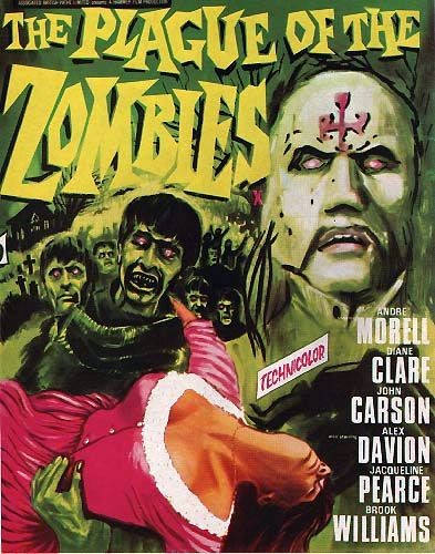 THE PLAGUE OF THE ZOMBIES FILM POSTER 1