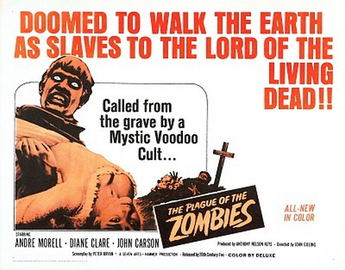 THE PLAGUE OF THE ZOMBIES FILM POSTER 2