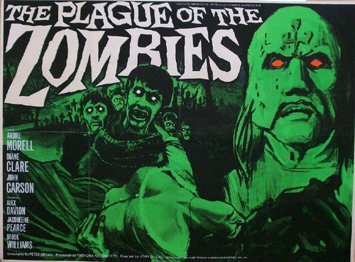 THE PLAGUE OF THE ZOMBIES FILM POSTER 3
