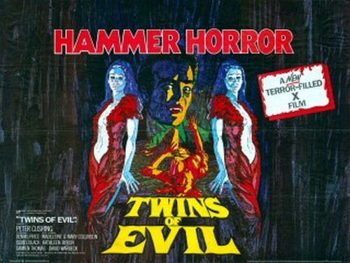 TWINS OF EVIL FILM POSTER 1