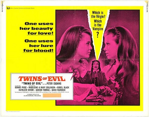 TWINS OF EVIL FILM POSTER 2