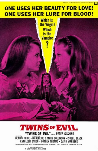 TWINS OF EVIL FILM POSTER 3