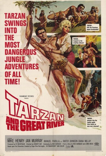 TARZAN & THE GREAT RIVER FILM POSTER 1