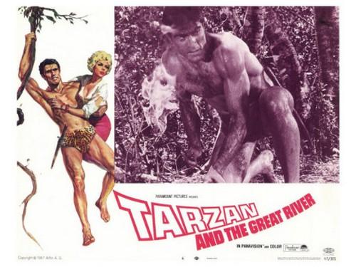 TARZAN & THE GREAT RIVER FILM POSTER 2