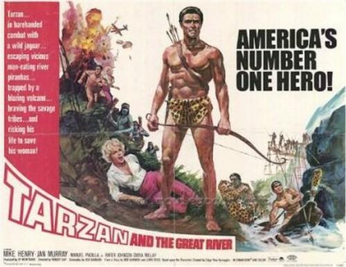 TARZAN & THE GREAT RIVER FILM POSTER 3