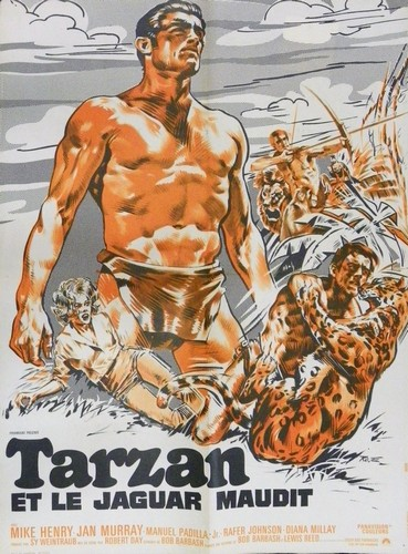 TARZAN & THE GREAT RIVER FILM POSTER 4