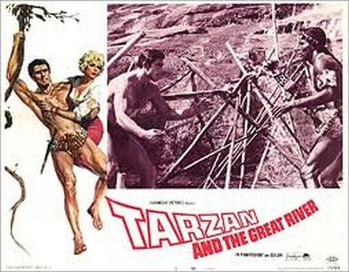TARZAN & THE GREAT RIVER FILM POSTER 5