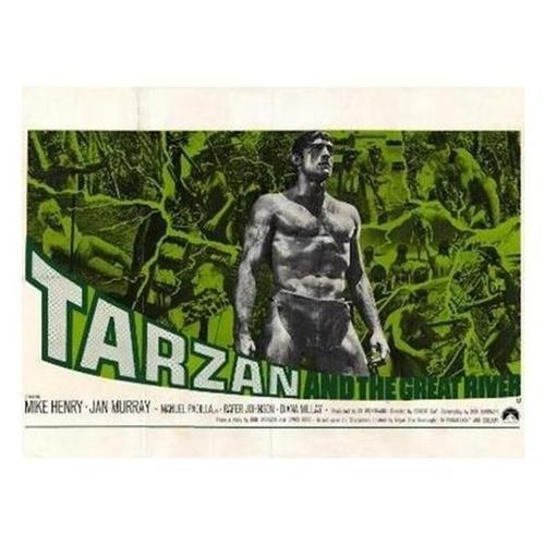 TARZAN & THE GREAT RIVER FILM POSTER 7