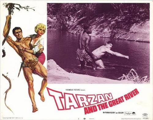 TARZAN & THE GREAT RIVER FILM POSTER 8