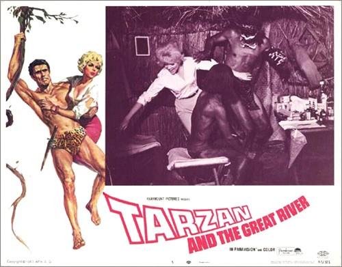 TARZAN & THE GREAT RIVER FILM POSTER 9