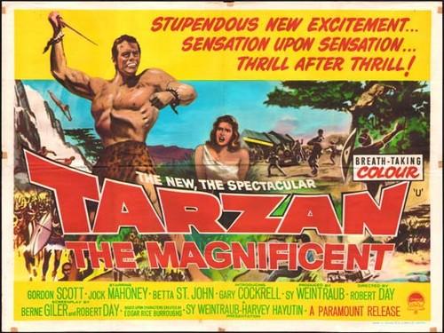 TARZAN THE MAGNIFICENT FILM POSTER 1