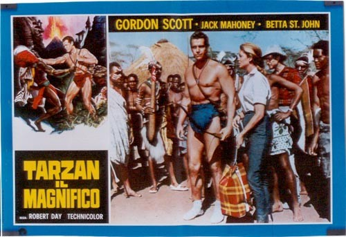 TARZAN THE MAGNIFICENT FILM POSTER 2