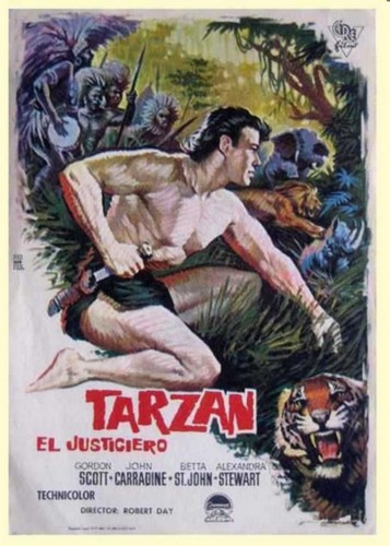 TARZAN THE MAGNIFICENT FILM POSTER 3