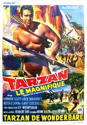 TARZAN THE MAGNIFICENT FILM POSTER 6