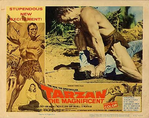 TARZAN THE MAGNIFICENT LOBBY CARD 1