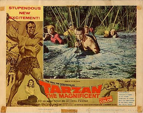TARZAN THE MAGNIFICENT LOBBY CARD 2