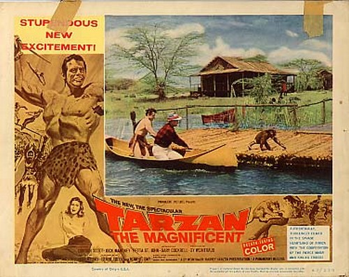 TARZAN THE MAGNIFICENT LOBBY CARD 3