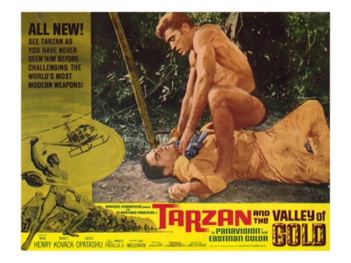 TARZAN & THE VALLEY OF GOLD FILM POSTER 1