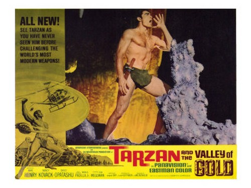 TARZAN & THE VALLEY OF GOLD FILM POSTER 2