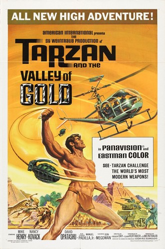 TARZAN & THE VALLEY OF GOLD FILM POSTER 3