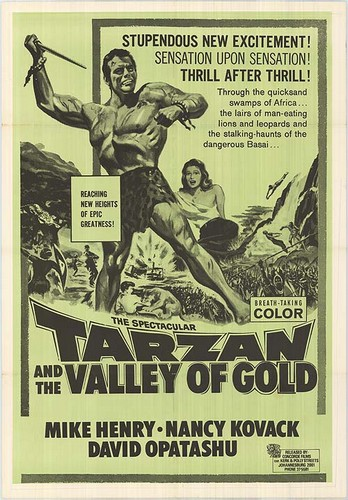 TARZAN & THE VALLEY OF GOLD FILM POSTER 5