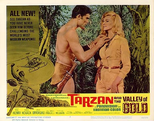 TARZAN & THE VALLEY OF GOLD FILM POSTER 6