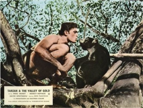 TARZAN & THE VALLEY OF GOLD FILM POSTER 9