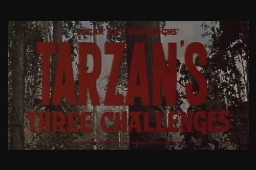 TARZAN`S 3 CHALLENGES (1)