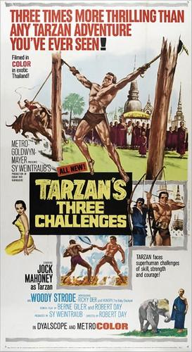 TARZAN`S 3 CHALLENGES FILM POSTER 2