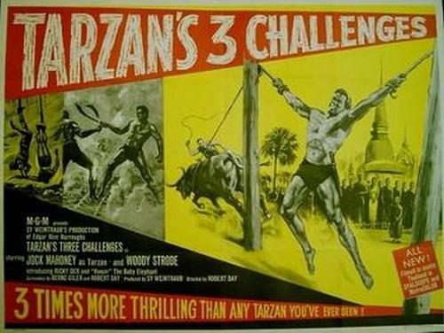 TARZAN`S 3 CHALLENGES FILM POSTER 3