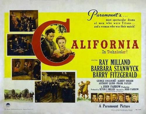 CALIFORNIA FILM POSTER 5