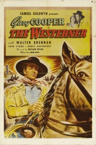 THE WESTERNER FILM POSTER 1