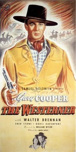 THE WESTERNER FILM POSTER 3