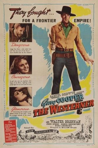 THE WESTERNER FILM POSTER 4