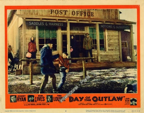 DAY OF THE OUTLAW FILM POSTER 7